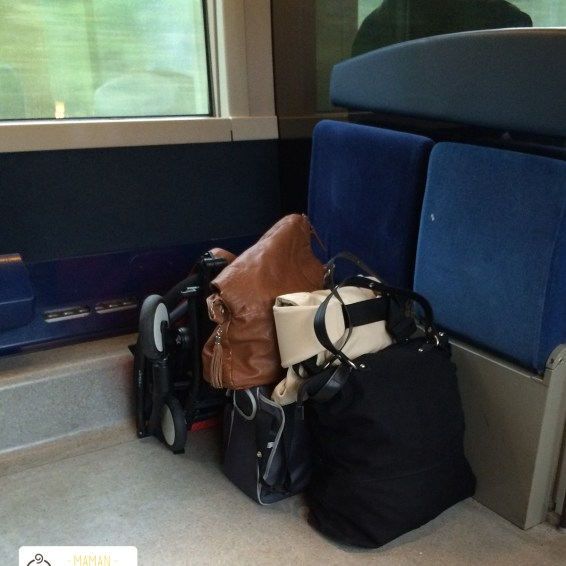 bagages train