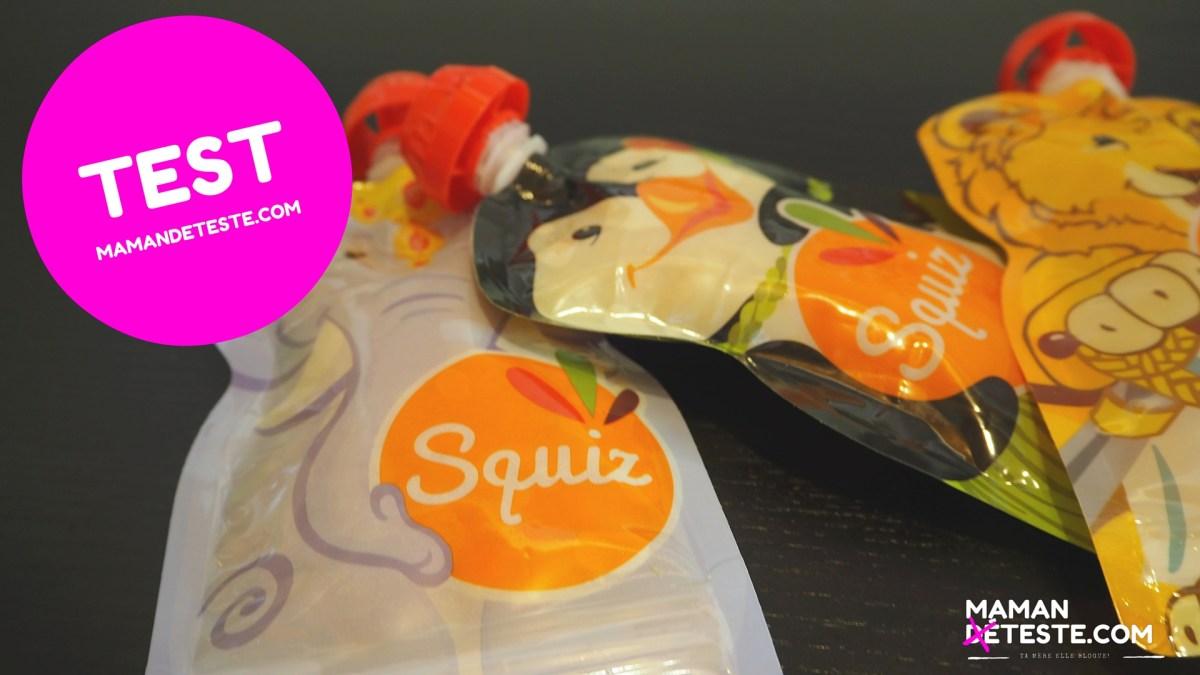 J'ai testé: La gourde réutilisable Squiz