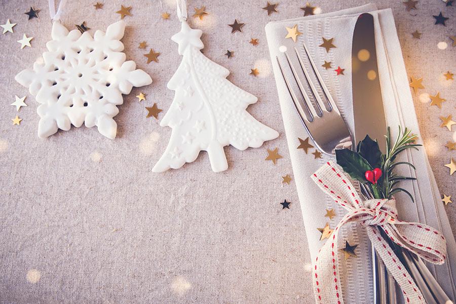 Repas de fête de fin d'année