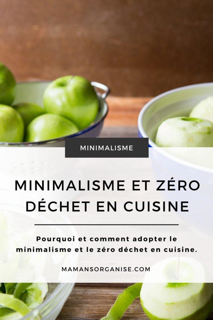 Découvrez les avantages et les différentes étapes pour adopter le minimalisme et le zéro déchet en cuisine en cliquant ici.