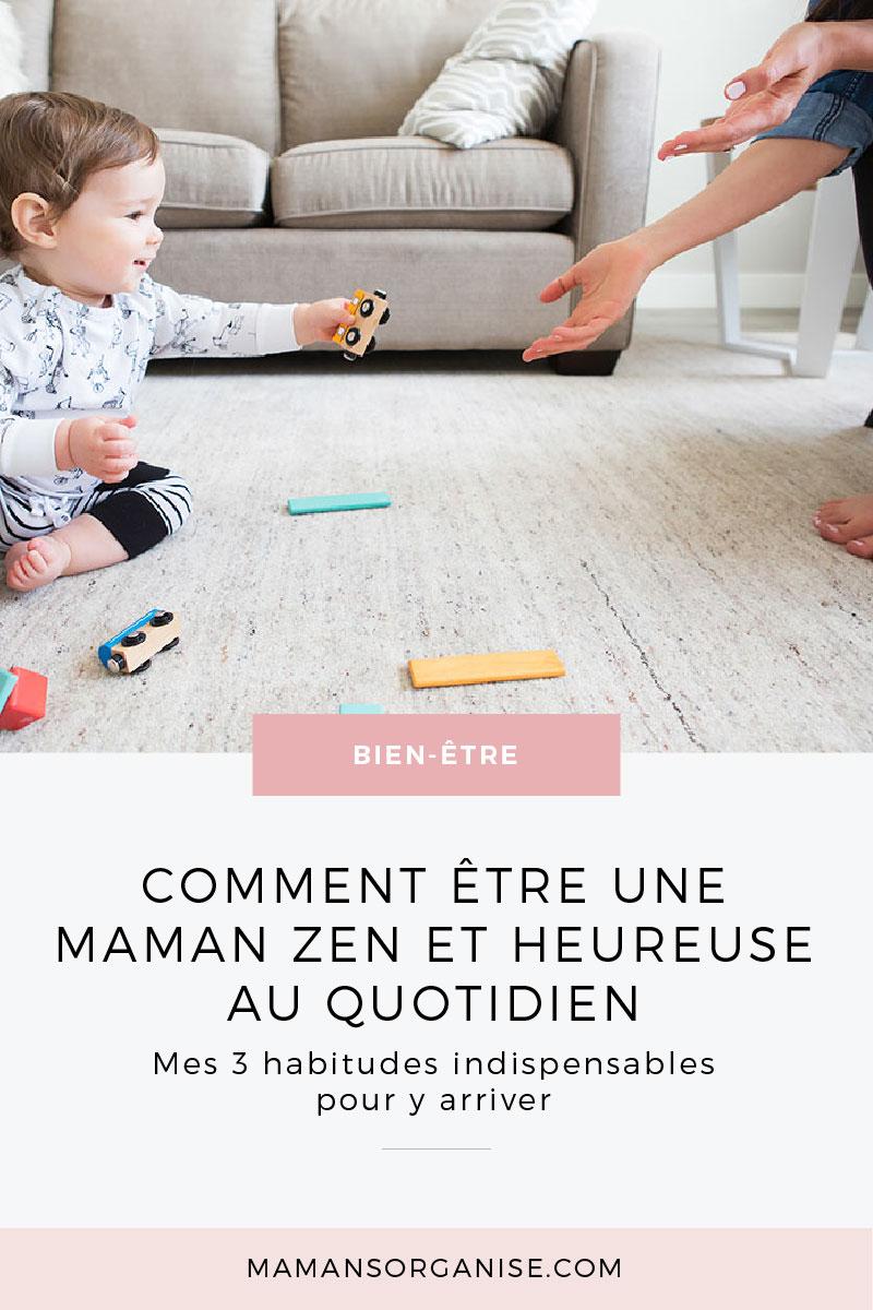 Besoin de rester calme devant des enfants déchaînés ? Découvrez mes 3 habitudes indispensables pour être une maman zen et heureuse au quotidien. Cliquez ici.