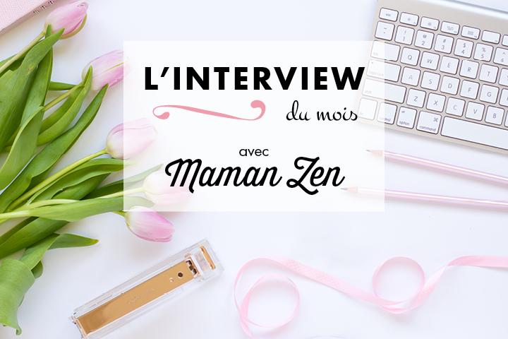 Interview de Julie Lemaire, alias Maman Zen