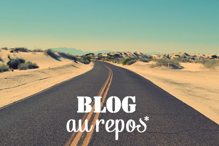Blog au repos pour une durée indéterminée