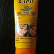 Test Crème Solaire pour enfants Cien Sun