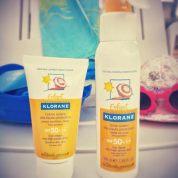 La crème solaire Klorane bébé : l'avis d'une maman baroudeuse