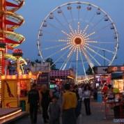 le Luna Park de Carnon (région de Montpellier)
