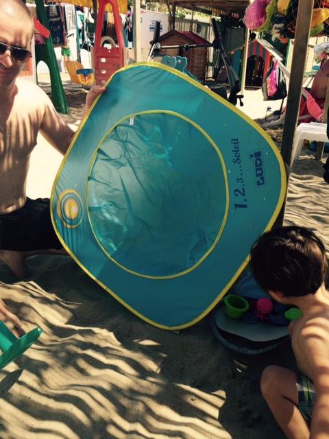 piscine de plage installation