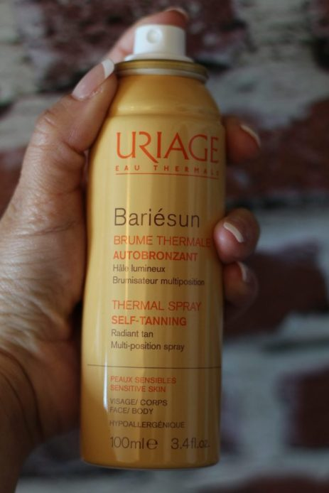 spray autobronzant Uriage