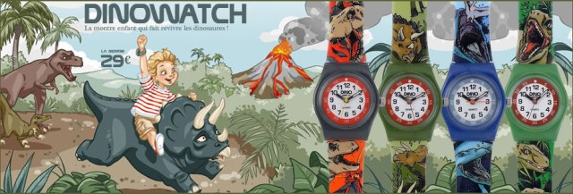 dinowatch montre enfant