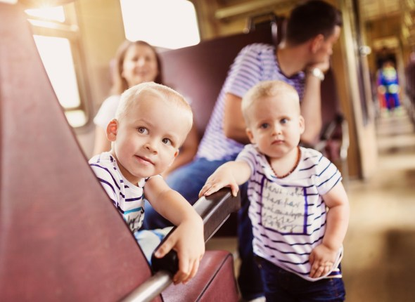 voyage avec bébé famille