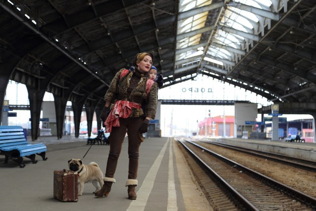 voyage avec bébé train