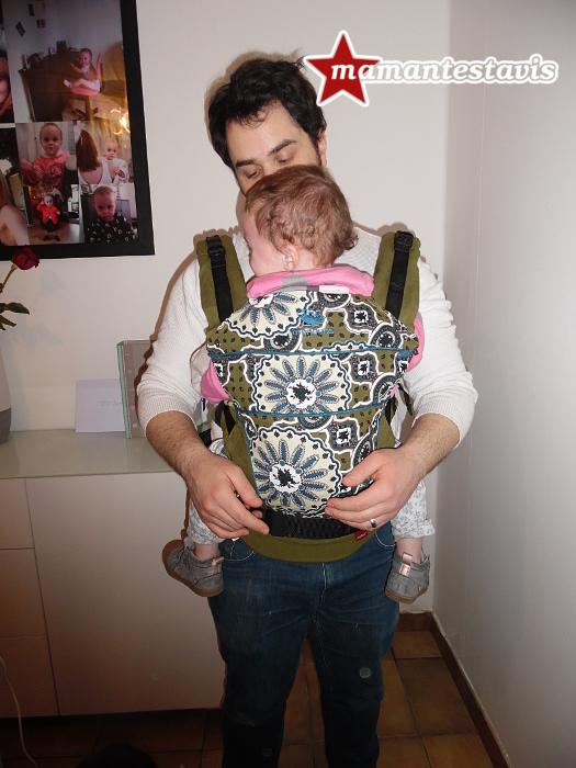porté-bébé manduca
