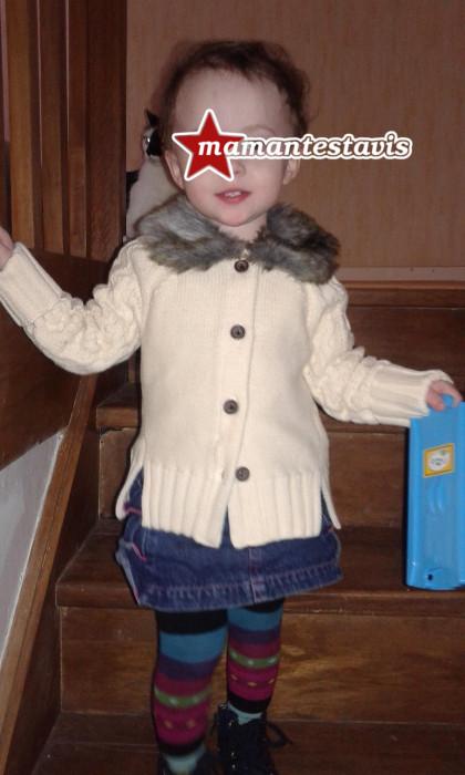 tenue bébé fille
