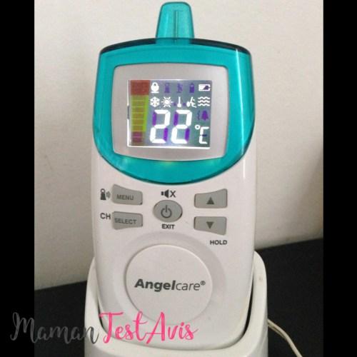 Test Angelcare - Détecteur de respiration quand bébé dort