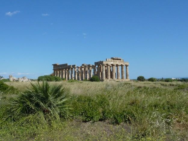temple grec en Sicile