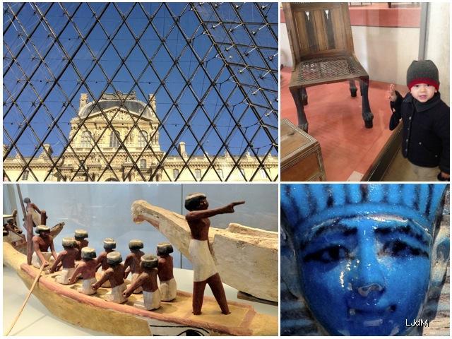 Sortie au Louvre en famille