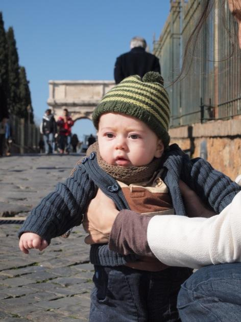 Idée voyage avec bébé : Rome