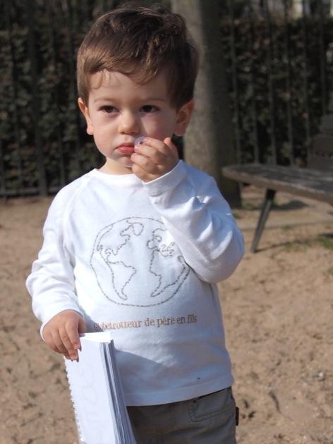 Mon fils est un globetrotteur !