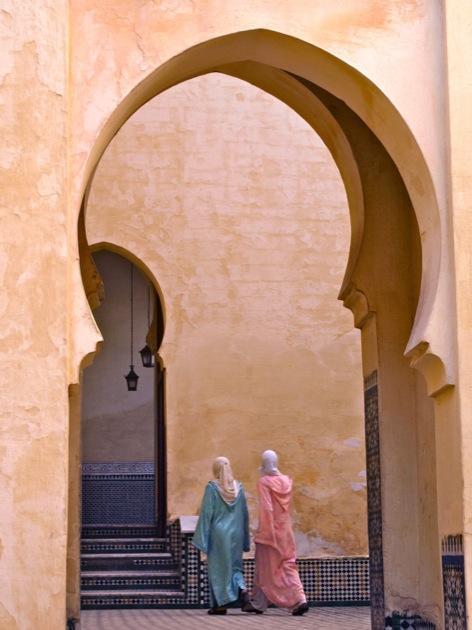 Le Maroc couleur abricot...