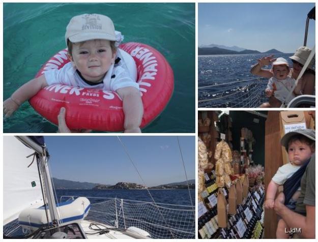 Idée voyage avec bébé : l'île d'Elbe en voilier