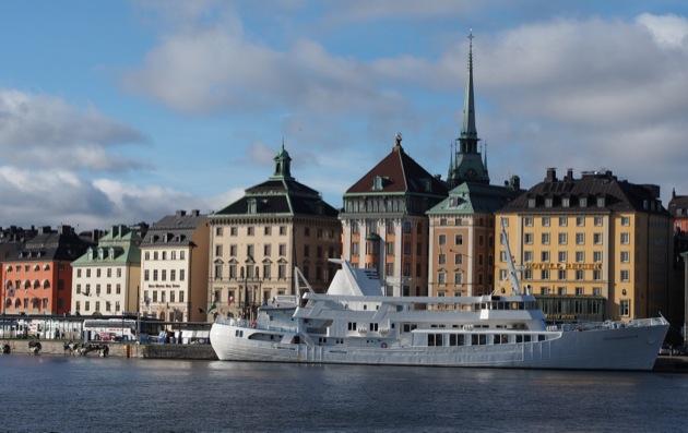 Instant T suédois : jour d'automne à Stockholm