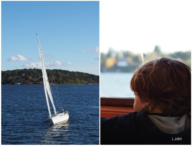 Balade en bateau dans l'archipel de Stockholm