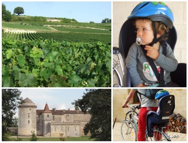 escapades en vélo à Saint-Emilion