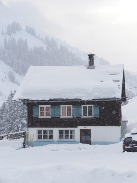 chalet neige