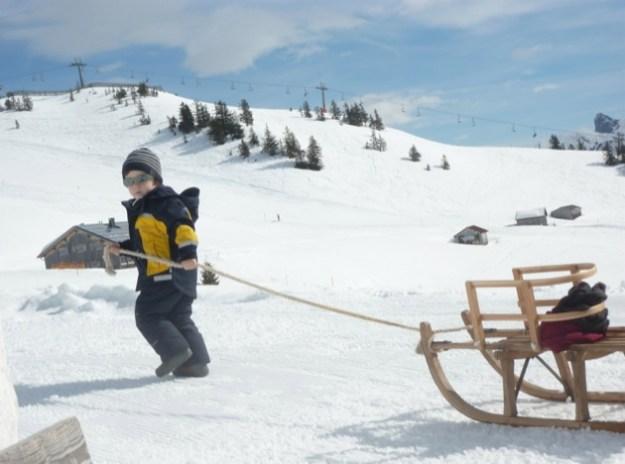 Partir au ski avec de jeunes enfants