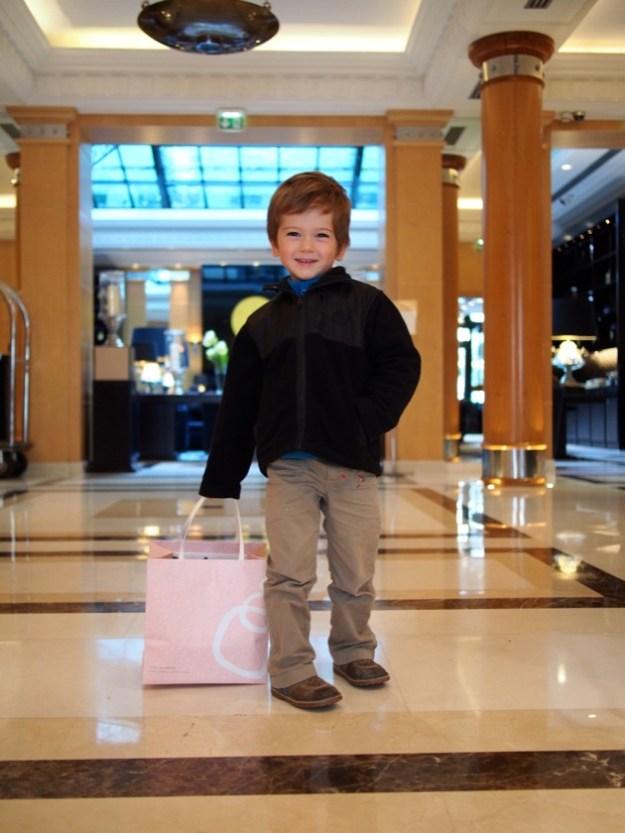 Un brunch en famille très réussi au Hyatt Paris Madeleine