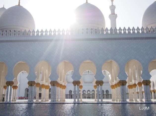 Visite de la Grande Mosquée à Abu Dhabi
