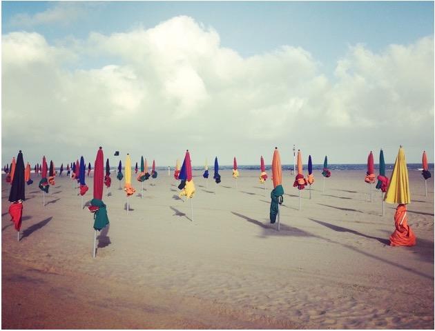 plage à Deauville