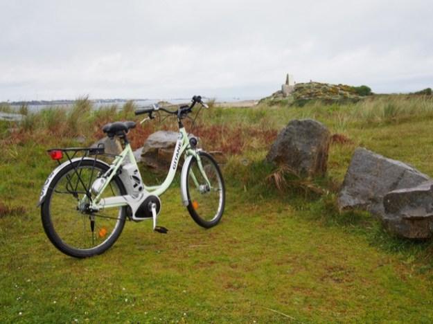 visiter l'île Callot à vélo