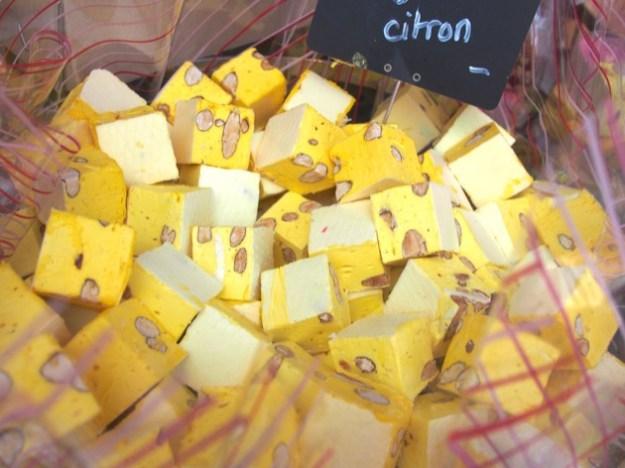nougats au citron à La Gacilly
