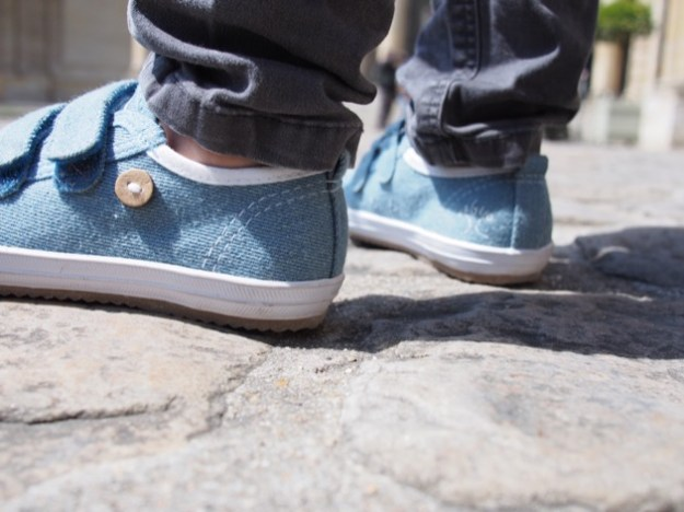 chaussures Faguo Kids Oak denim scratch