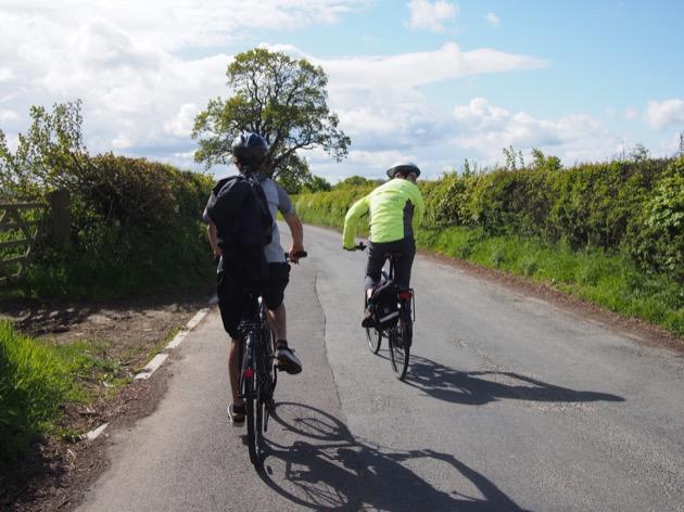 vélo dans le Yorkshire