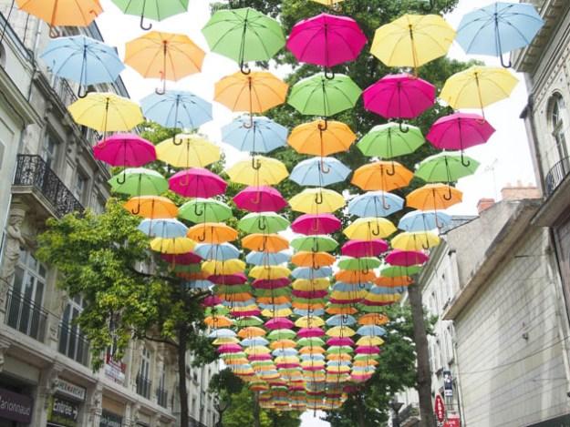 Les parapluies de Saumur