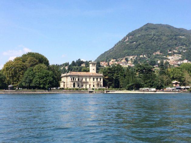 Villa du lac de Côme