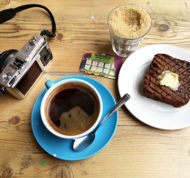 pause café à Londres