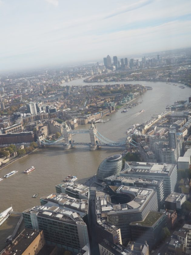 Londres vu du ciel