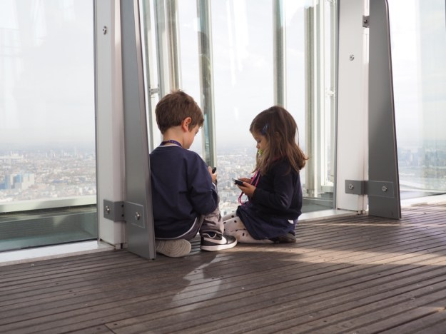 The View From The Shard en famille