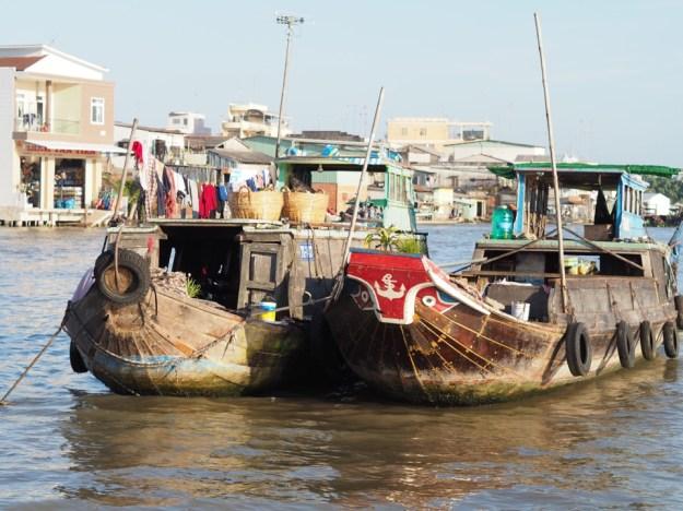 marché flottant Cai Be
