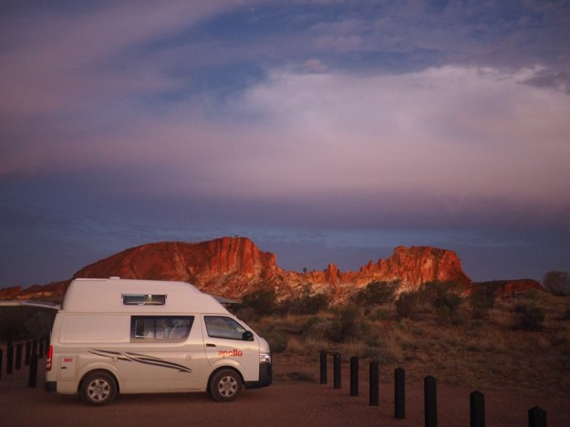 voyager en campervan