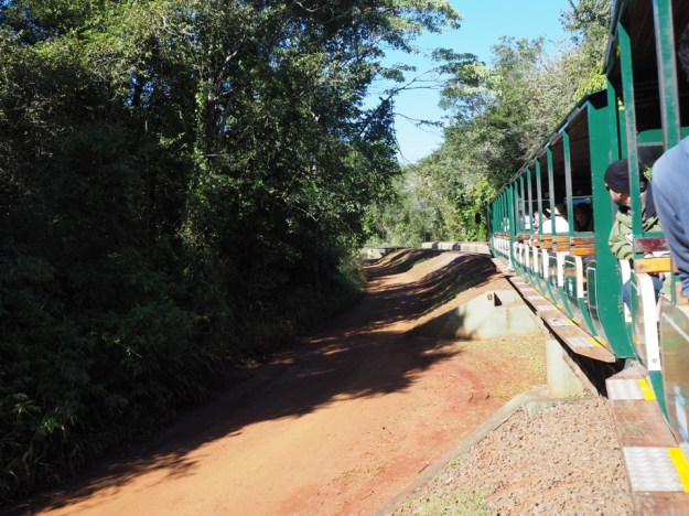 Iguazu le petit train