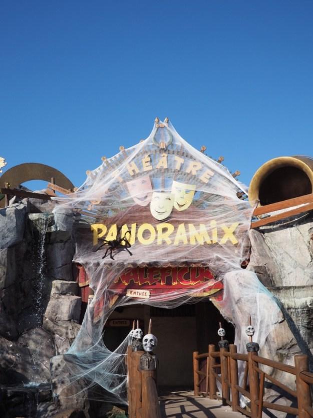 Parc Asterix peur sur le parc