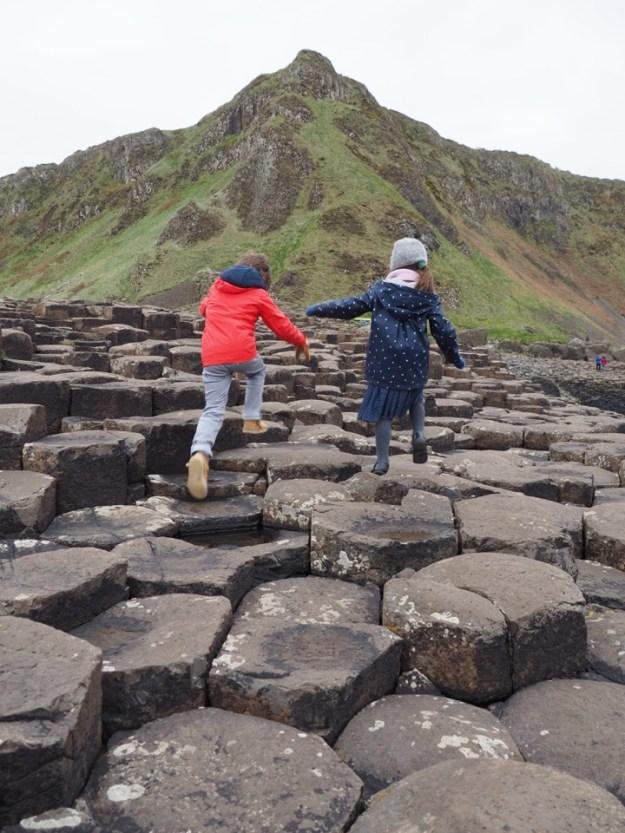 irlande du nord avec enfant