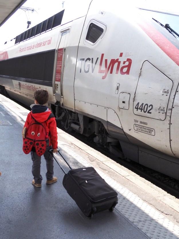 Lausanne en TGV Lyria
