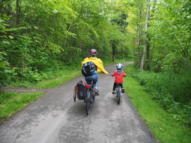 la véloscénie en famille