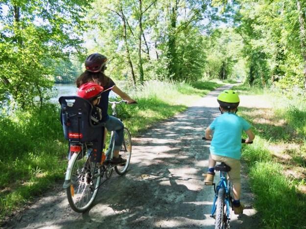 la vélofrancette en famille