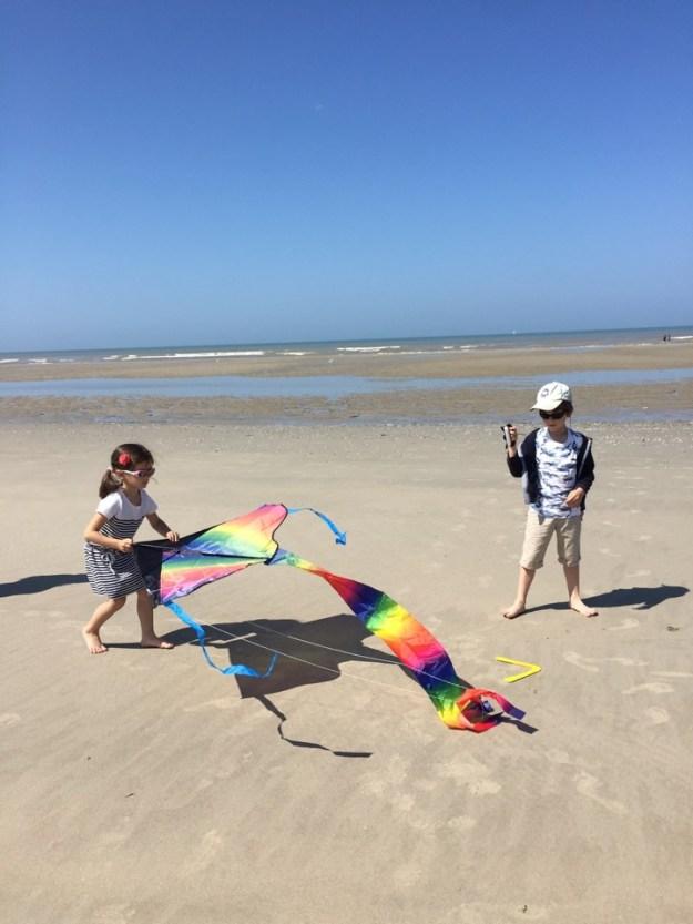 cerf-volant plage